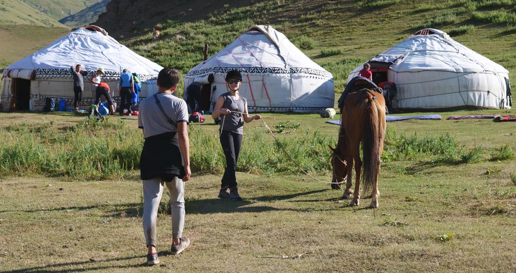 Nomads in Kyrgyzstan