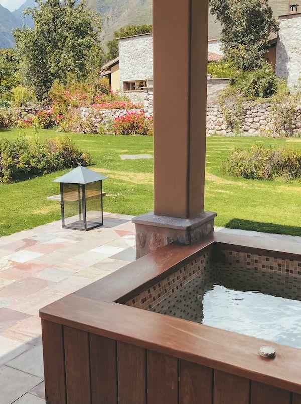 Private hot tub Sol y Luna, Peru