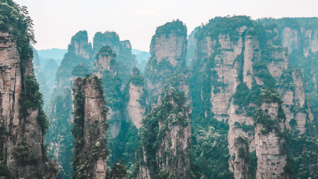 Two Day Itinerary Exploring the Zhangjiajie Mountains, China