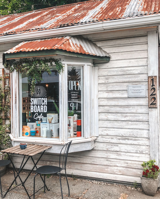 Switch Board Cafe, Salt Spring Island