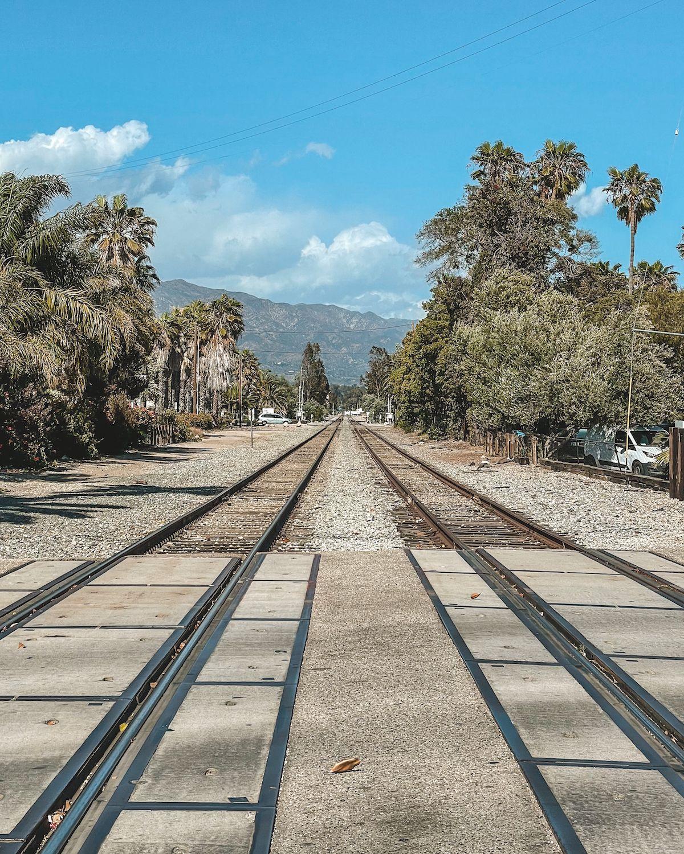 Santa Barbara train tracks